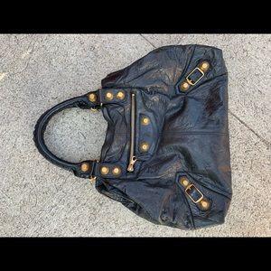 Authentic Balenciaga leather purse.